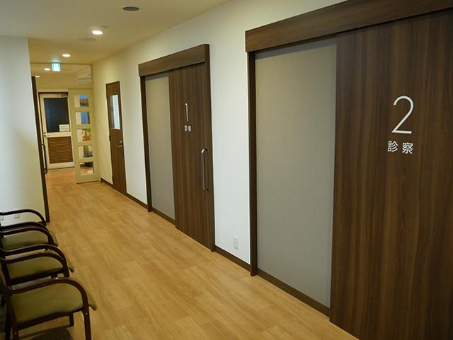 こちらは診察室です